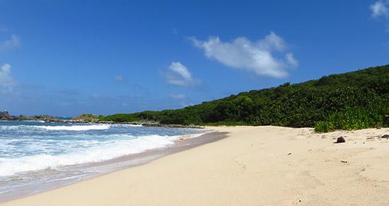 the st. martin surf spot