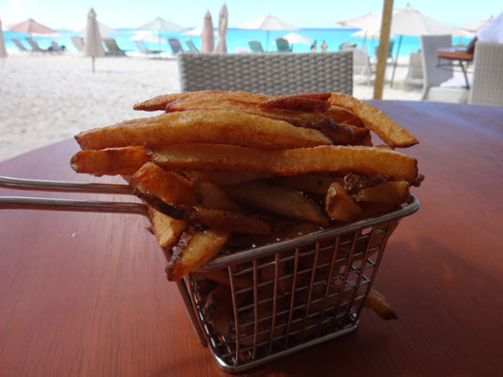 house made french fries at madeariman