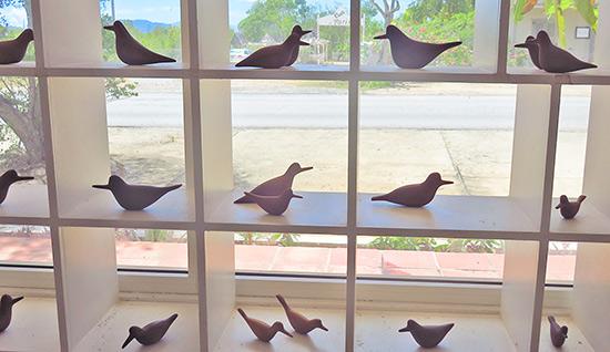 devonish sculpture national bird of anguilla