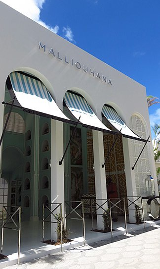 entrance to malliouhana