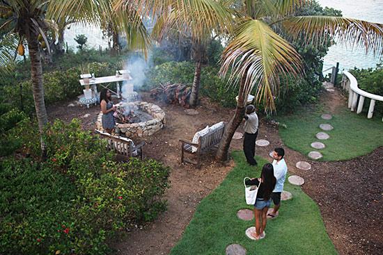 malliouhana setting for bonfire and smores