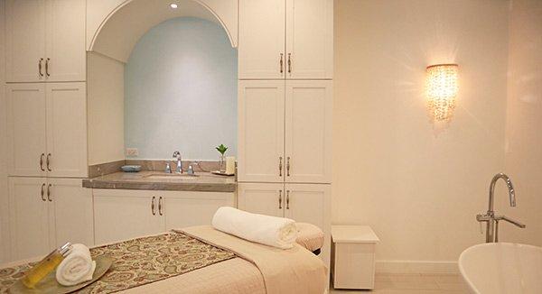 single massage area