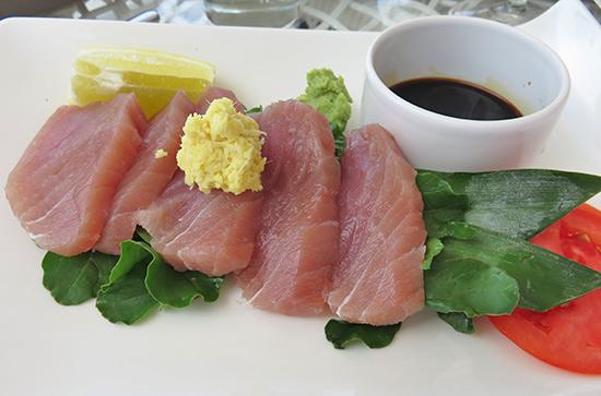 manoah tuna sashimi