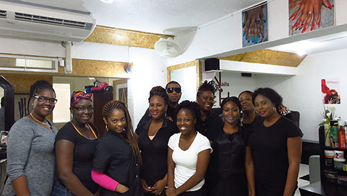 the team at nails r hair