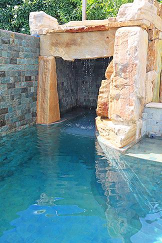 pool cave at nevaeh villa anguilla