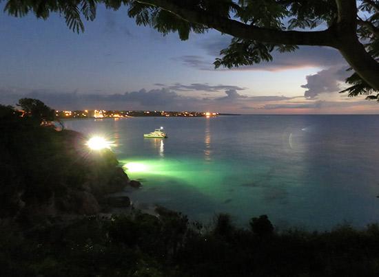 good night from malliouhana anguilla