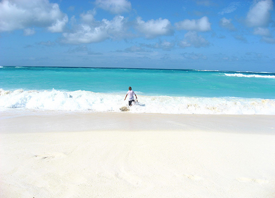 A favorite Anguilla picture taken at Shoal Bay