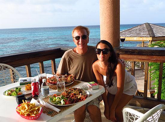 Nori Evoy and Ken Evoy Anguilla
