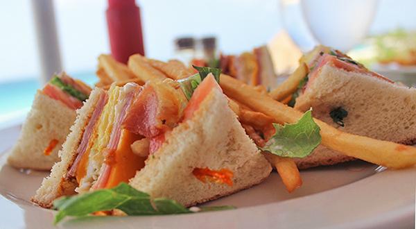 ocean echo club sandwich