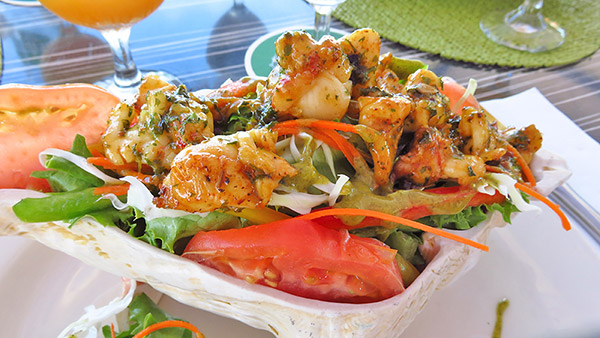 ocean echo lobster salad