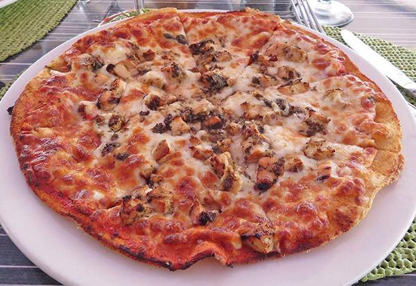 ocean echo jerk chicken pizza