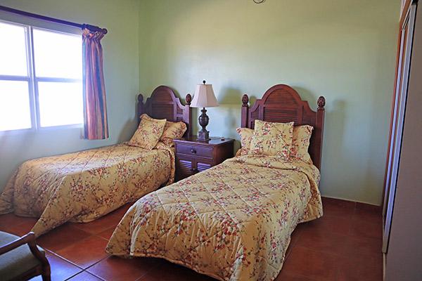 second bedroom in ocean terrace condos