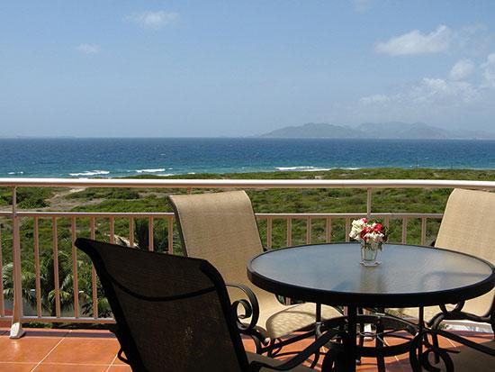 ocean terrace condos summer view