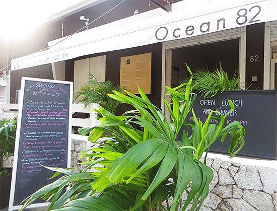 exterior of ocean 82