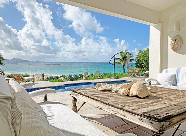 spacious anguilla villa on sandy point beach