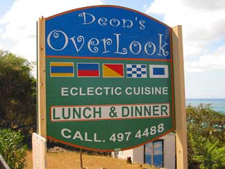 OverLook Restaurant Sign