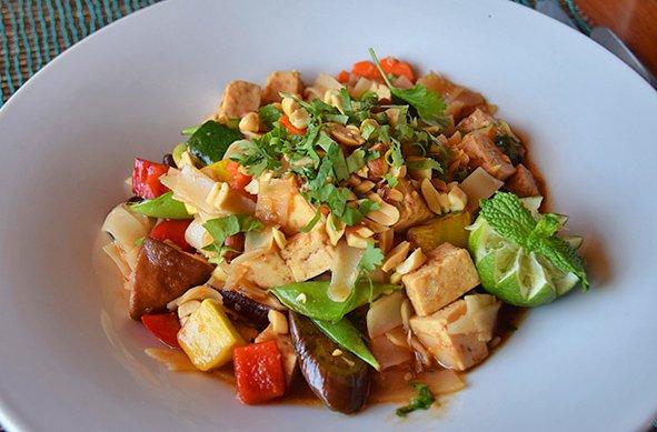 Pad Thai Noodles at veya