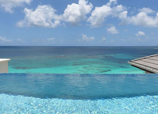 stunning penthouse suite view from zemi beach house