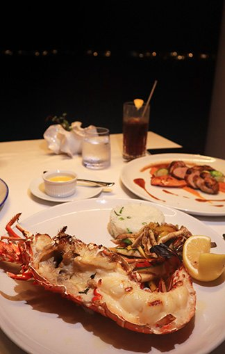pimms lobster