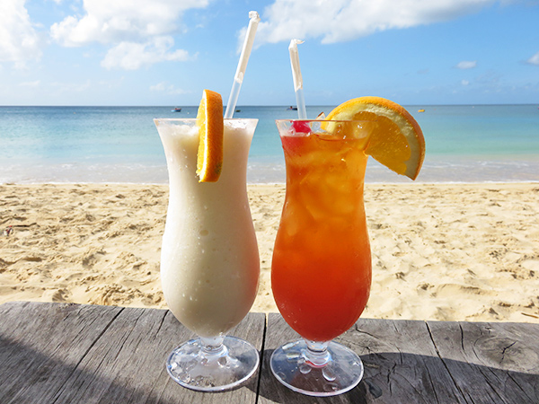 Pina Colada and Rum Punch