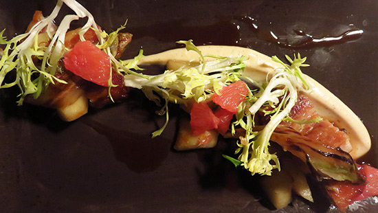 porkbelly as an appetizer