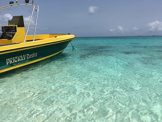 the waters of prickly pear anguilla