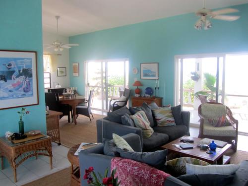 private home living area