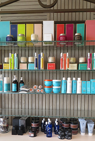 products for sale at viceroy spa