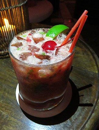 raspberry mojito at cap juluca spice