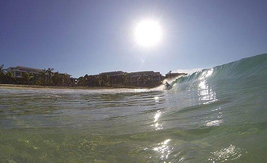 ravi surfing meads bay