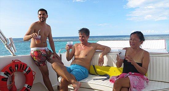 sunshine at sandy island