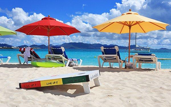 Sunshine Shack beachbar N Grill bar beach view