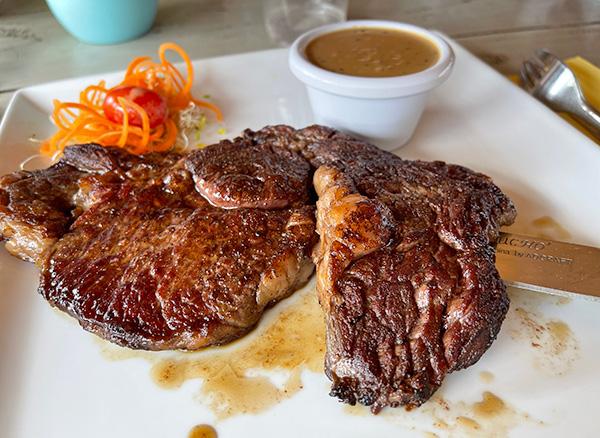 Ribeye Steak at Yellow Beach
