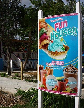 tropical treats sign anguilla
