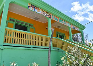 anguilla restaurants roti hut