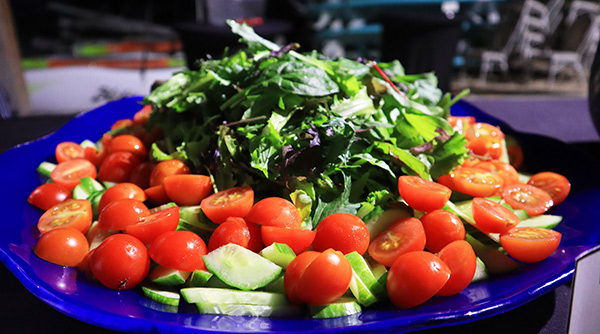 fresh salads at cuisinart