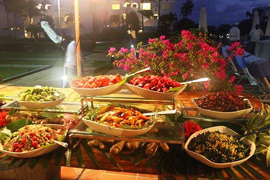 fresh salads at cuisinart