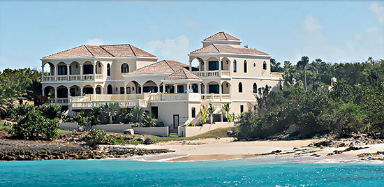 sandcastle angiulla villa rental