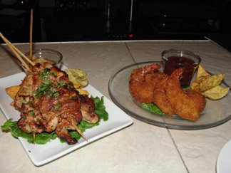 Anguilla Restaurant SandBar Tapas