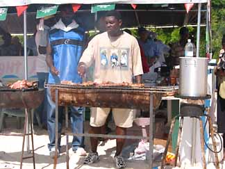 anguilla bbq sandy ground