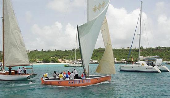 satellite anguilla sailboat