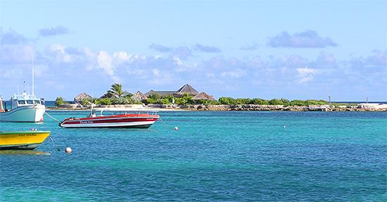 scilly cay blue sea anguilla