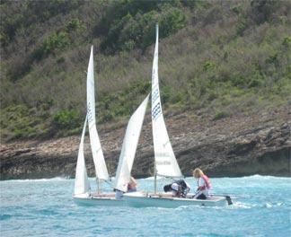 Anguilla sailing