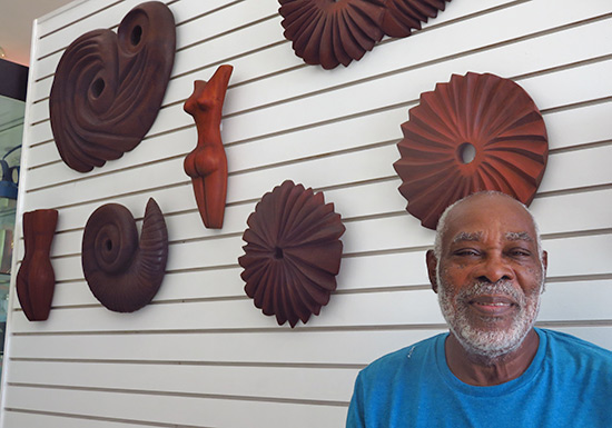 sculptor and potter mr. courtney devonish