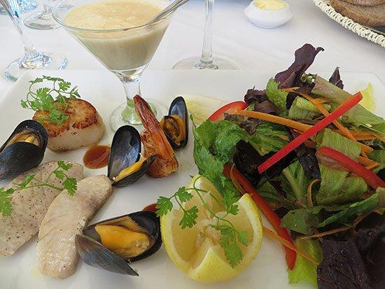 seafood salad special
