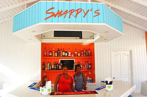welcoming bar area at sharpys