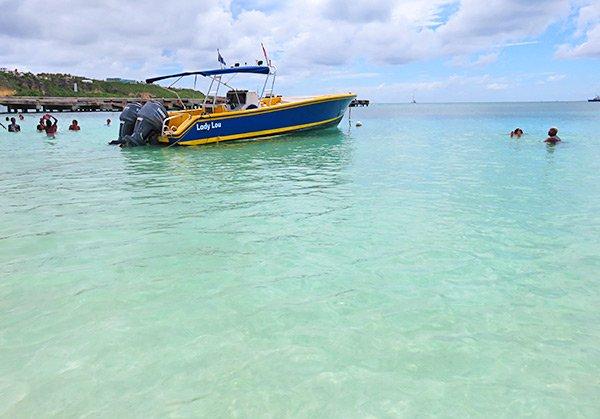 shoal bay scuba dive boat lady lou