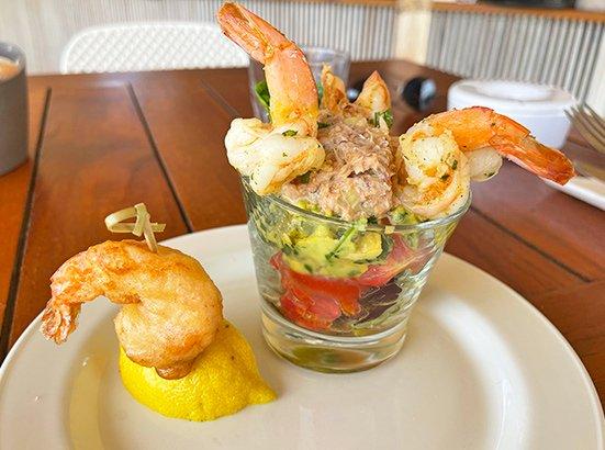 Shrimp Cocktail at La Playa Restaurant & Bar