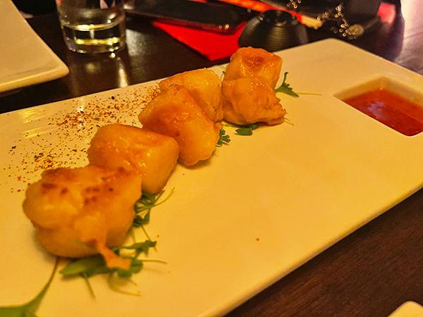 Shrimp Shumai at Little Bamboo