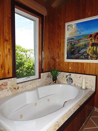 sink tub at wesley house anguilla